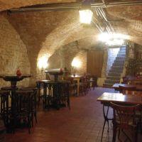 Authentieke middeleeuwse gewelvenkelder